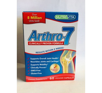 Arthro 7 - Joint Supplement Clinically Tested Formula - Hỗ Trợ Xương Khớp - 60 Viên - Made in USA